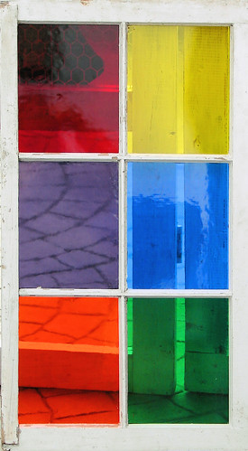 colorful window | by J. Niles