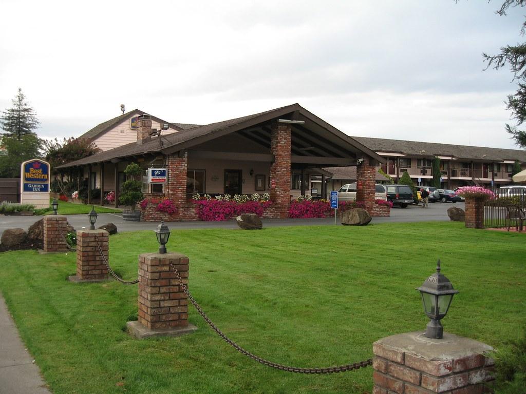 Best Western Garden Inn At Santa Rosa Ca The Motel We