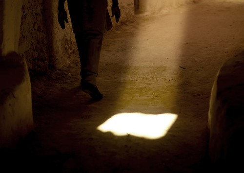 Ray of light in the streets of Ghadames, Libya | by Eric Lafforgue
