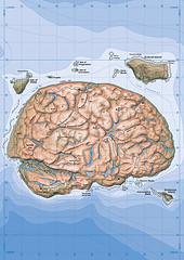 New Brainland Map - Portrait