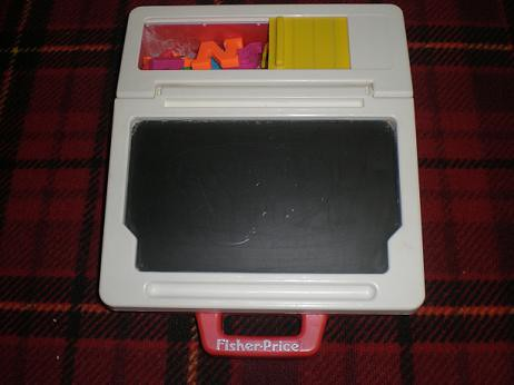 Fisher Price Chalkboard And Magnetic Alphabet Toy 5 Flickr