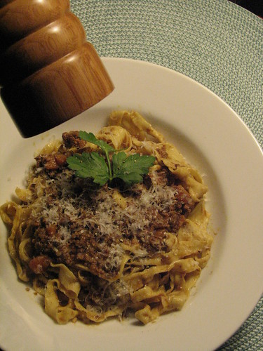 Authentic Homemade Tagliatelle Bolognese | by SeppySills