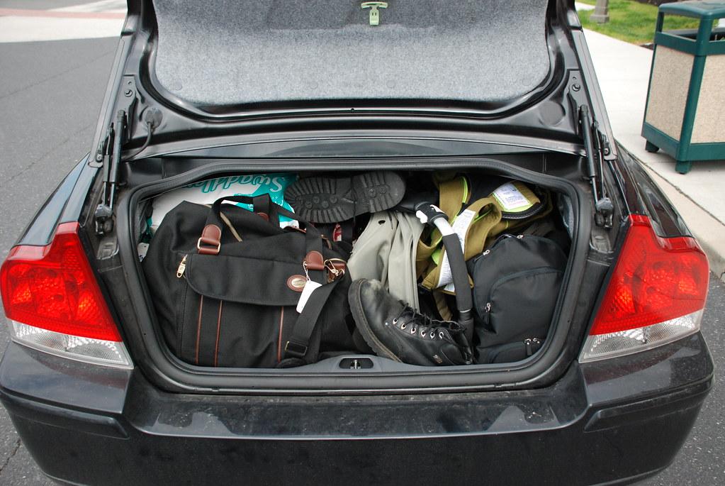 Image result for full car trunk