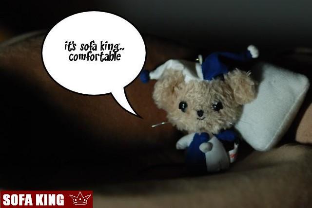 sofa king :p  Flickr  Photo Sharing!