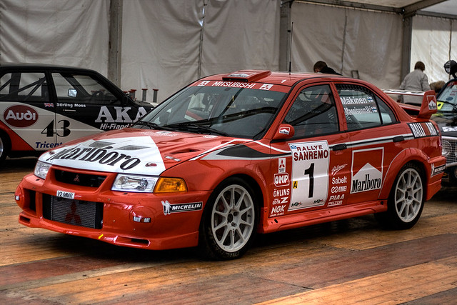 Mitsubishi Evo Rally Car Hdr Alanwalkerphotography Zenfoli Flickr