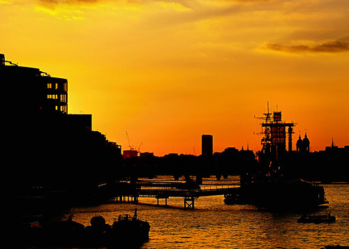 HMS Belfast sunset | by ccgd