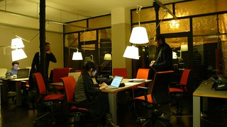 the coworking area | by noneck