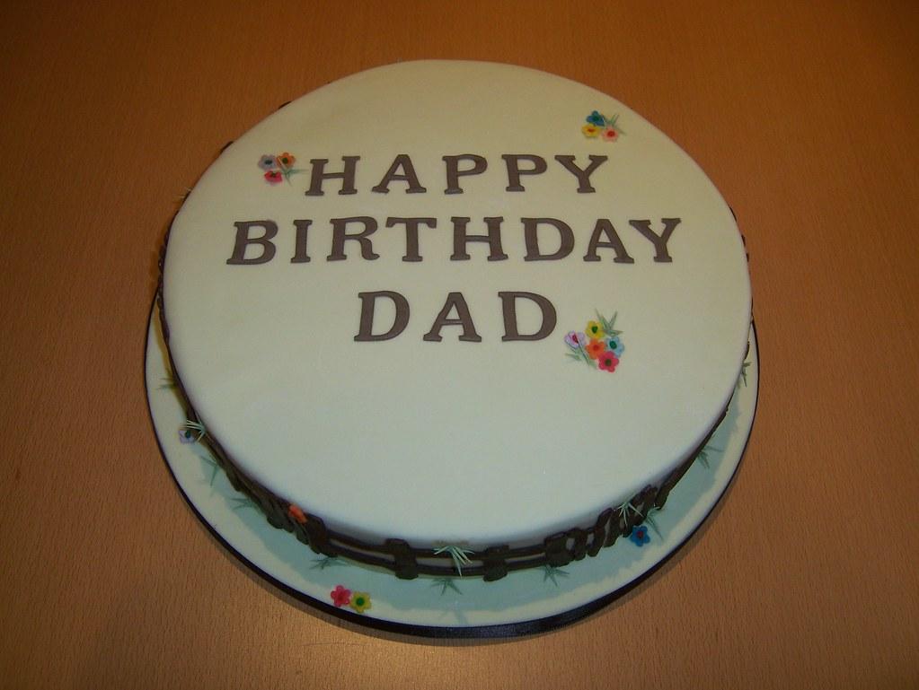 Dads Birthday Cake Aardvarkcakesspot For My Love
