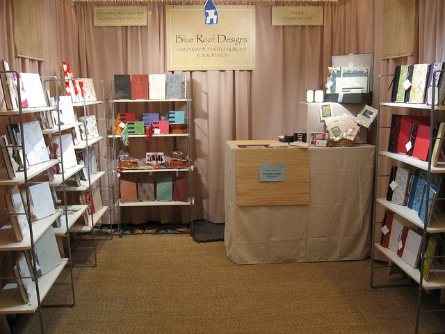 My Craft Show Booth Taken At The Vermont Hand Crafters