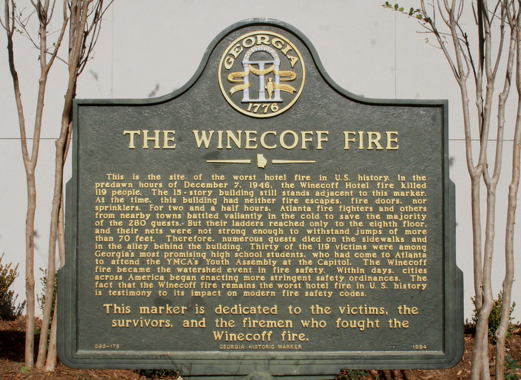 The Winecoff Hotel And Fire Quot Peachtree Burning
