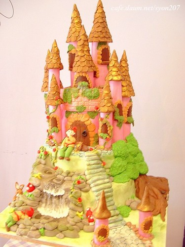 Fairy Castle Birthday Cake Images