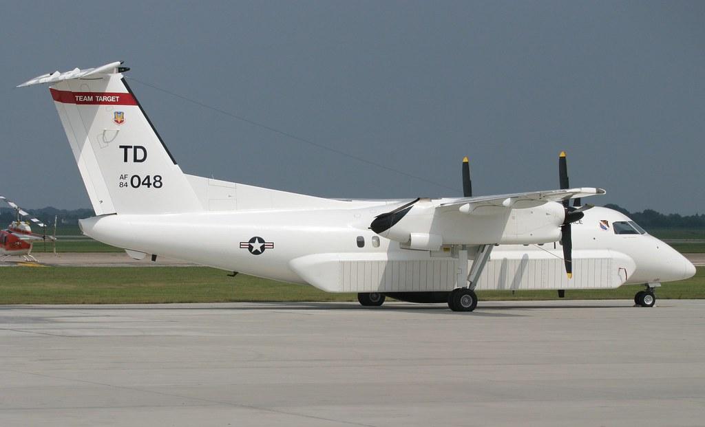 "de Havilland Canada ""Dash 8"" E-9 Widget - 84-0048, USAF ..."