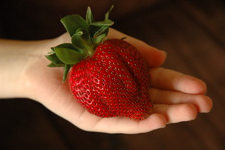 World's largest strawberry | by robgoldberg