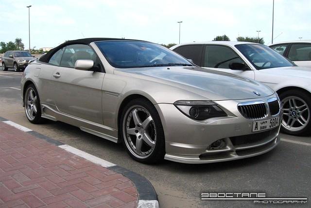BMW 6 Series Convertible [Hamann] front right (Dubai, UAE, 25 Jan 08