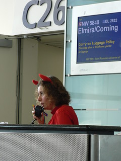 Detroit Airport - Gate Agent | by Vicky TGAW