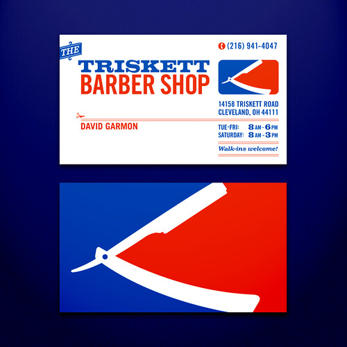 Triskett barber shop business cards here are some sample b flickr triskett barber shop business cards by craigminch colourmoves