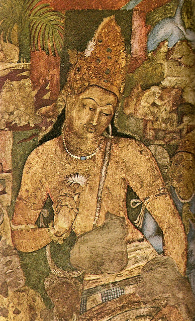 Ancient Buddhist Wall Painting