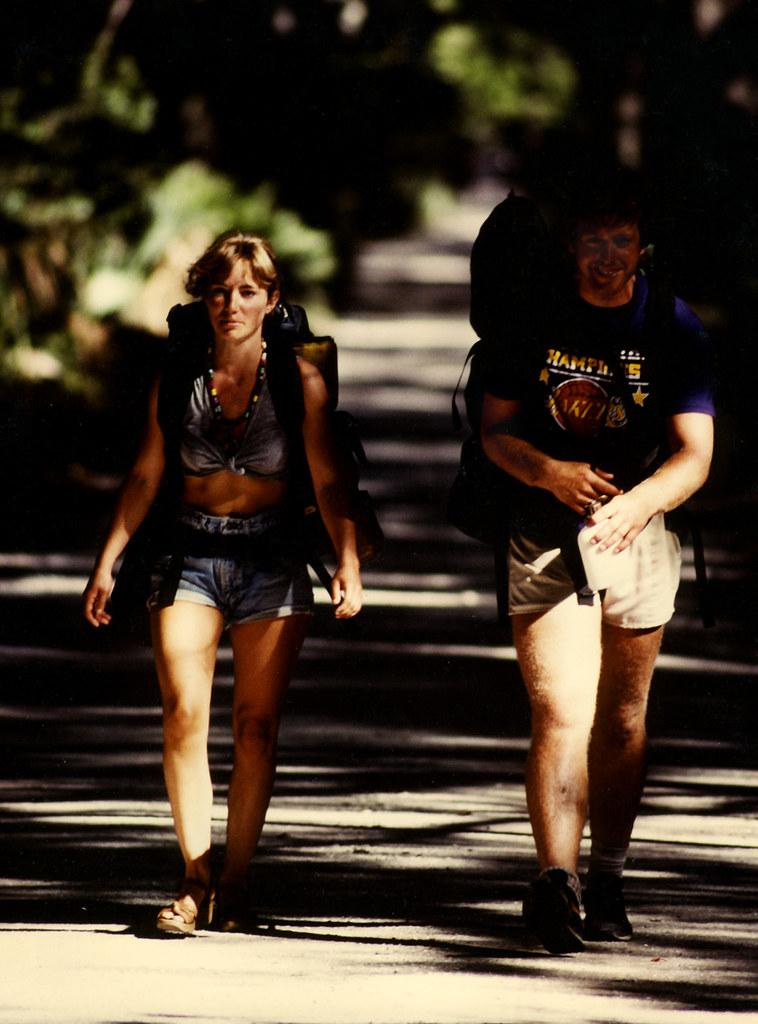 Where Is The Grand C >> 1988 Cumberland Island Camping   Star & Mary hiking Grand Av…   Flickr