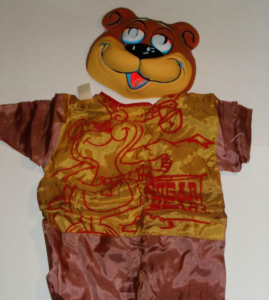 sugar bear halloween costume | post cereal 1965 | dan goodsell | flickr