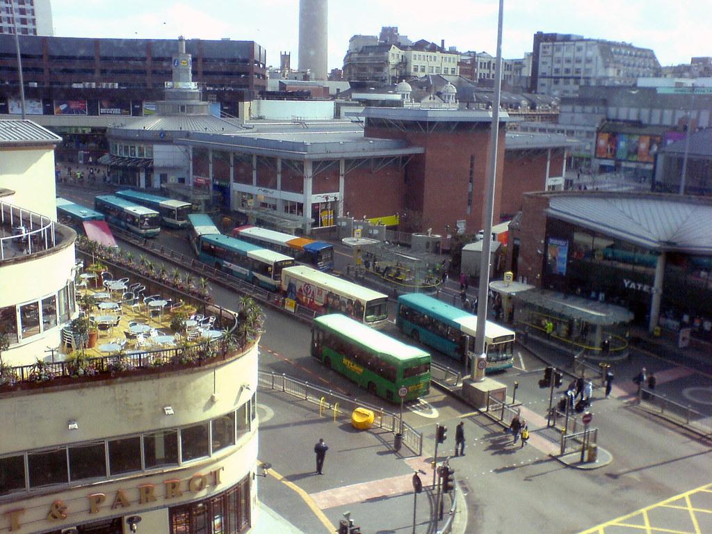Queens Square Liverpool Car Park To Mowgli