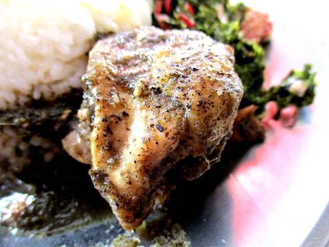 Anak Borneo kacang ma chicken
