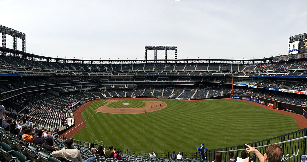 Citi Field The View From The Pepsi Porch This Panorama