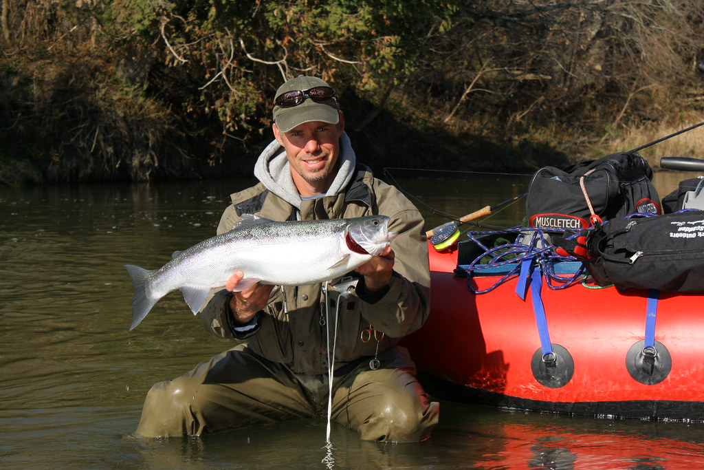 Fall steelhead fishing in Ontario