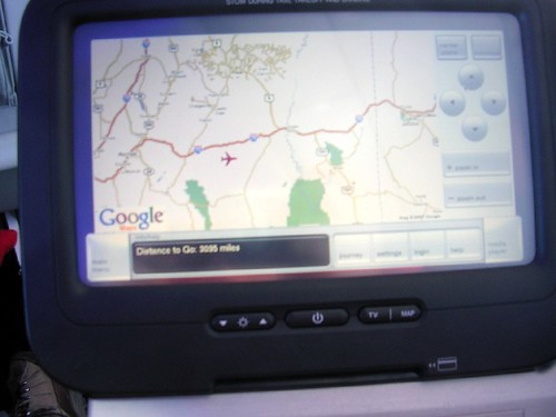 Live Google map on Virgin America | by scriptingnews