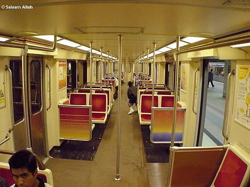87 lacmta metro red line union station car interior 521 flickr. Black Bedroom Furniture Sets. Home Design Ideas