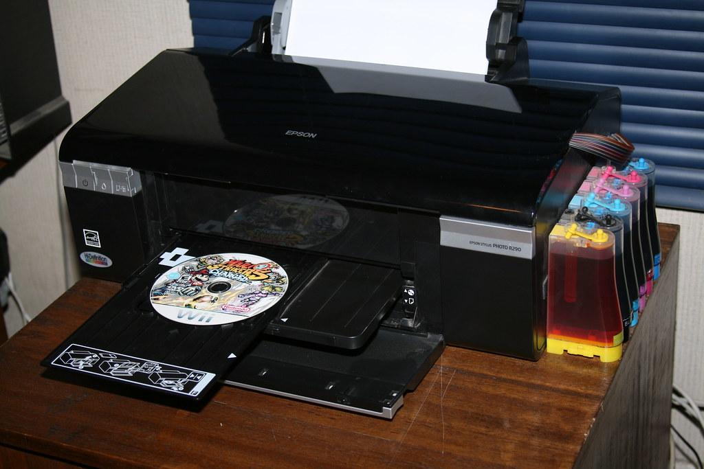 Impresora Epson R290 Con Sistema Continuo De Tinta Flickr