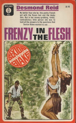 "Frenzy in the Flesh by ""Desmond Reid"" Wilfred McNeilly 1966 