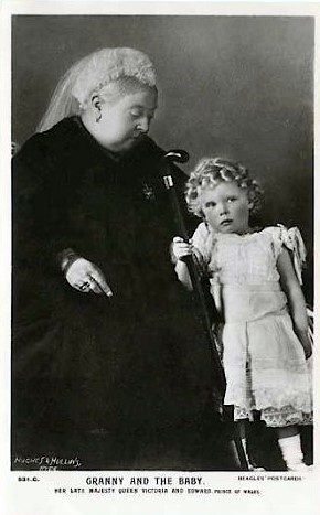 queen victoria and edward vii relationship help