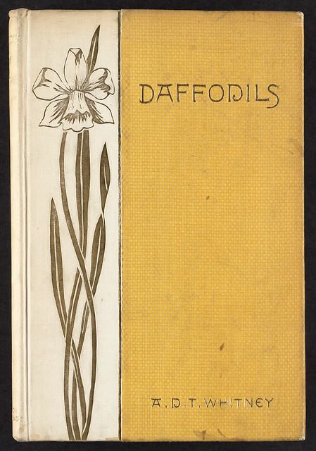 Book Cover Design Job Description : Daffodils front cover file name local