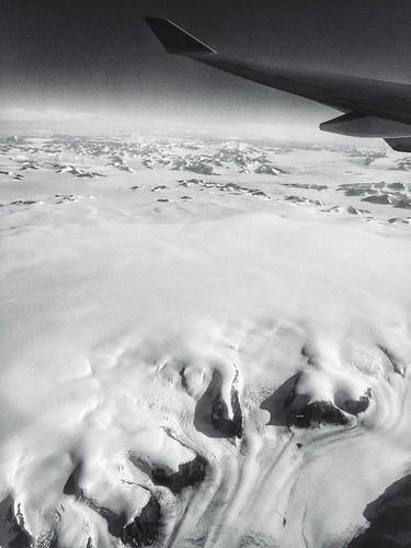 Somewhere over Greenland, pt. 2 | by tehgipster