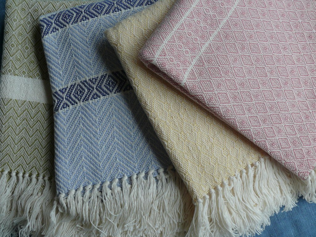 Hand Knotted Blanket