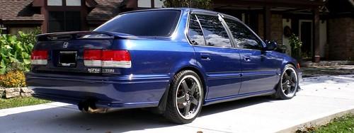 "1993 JDM Honda Accord CB7 ""Wraith"" | NEW All 4 OEM MUD FLAPS… | Flickr"