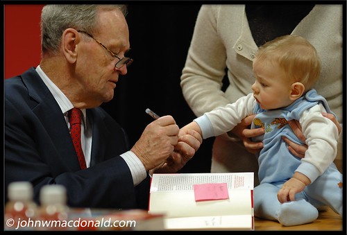 Jean Chretien & Baby Tattoo | by johnwmacdonald