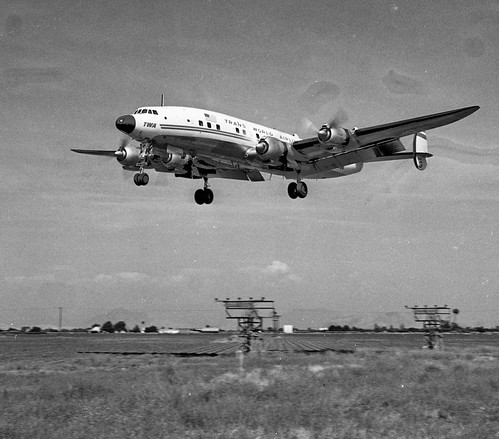 Lockheed Super G Constellation on April 2nd, 1962 | by Lance & Cromwell back from a Road Trip