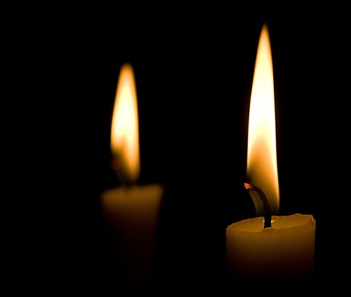 Two Candles | by Michel Filion