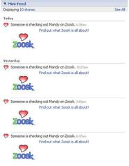 Zoosk spam