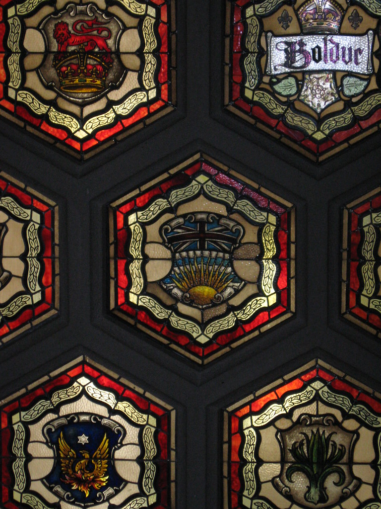 Senate Foyer Ceiling : British columbia s coat of arms this is in the ceiling