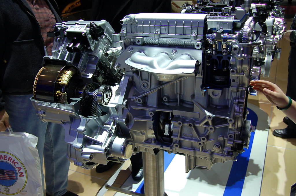 2008 Ford Escape Hybrid Engine North American Internationa