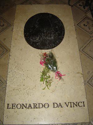 la tomba di leonardo da vinci la tomba di leonardo da