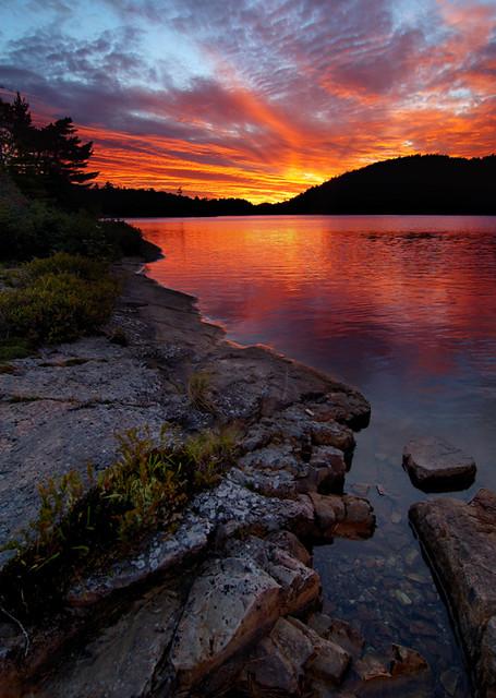 OSA Sunset #2 | OSA Lake, Killarney Provincial Park ...