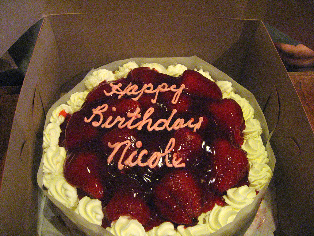 Nicole S Cake Nicole S Birthday Cake Belated See Where