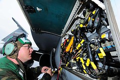Aviation Electronics Technician Performs Maintenance | Flickr