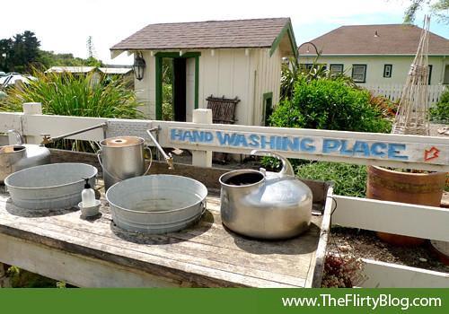 outdoor-handwashing-station-harley-farms | stacie tamaki