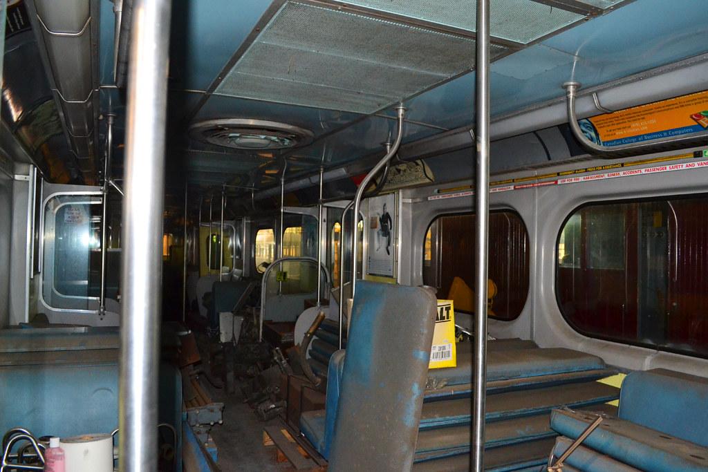 ttc m 1 subway car interior ttc 39 s second subway model o flickr. Black Bedroom Furniture Sets. Home Design Ideas