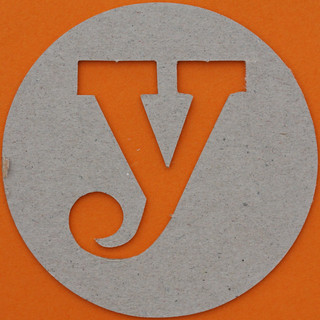 plain card disc letter y | by Leo Reynolds