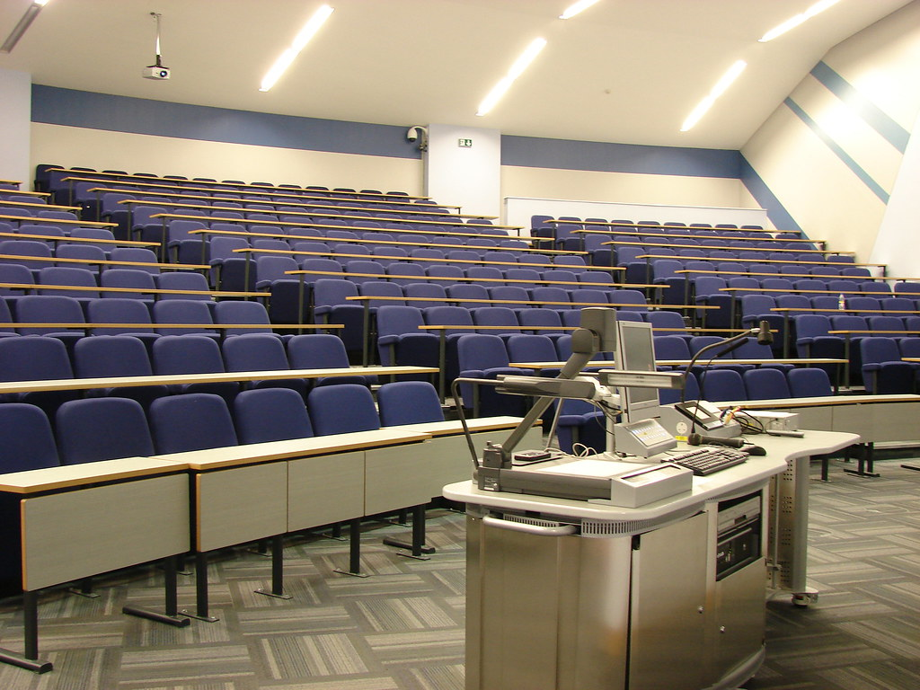 Lectern Lecture Theatre City Campus East Northumbria Unive